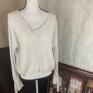 EXPRESS sweater V-neck for women good for winter